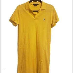 Ralph Lauren Polo Shirt Dress Size Medium